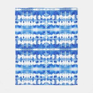 Filt för shibori för Tiefärg indigoblå