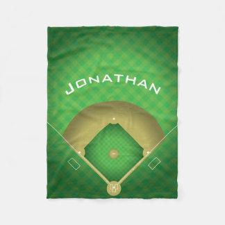 Filt för ull för baseballdiamantdesign