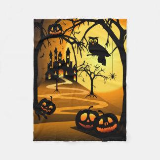 Filt för ull för Halloween slott liten