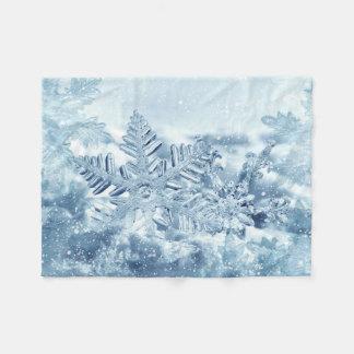 Filt för ull för Snowflakekristaller liten