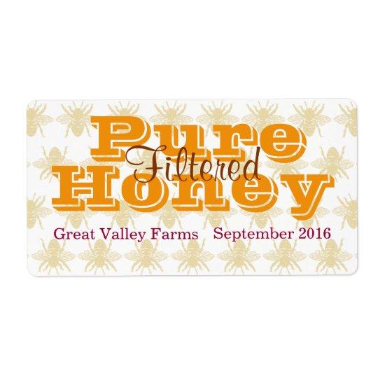 Filtrerad honungburk för drottning bi fraktsedel