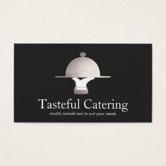 Fin äta middag restaurang- och händelsecatering visitkort