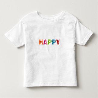 """Fin Jersey """"för lyckligt"""" småbarn T-tröja T-shirts"""