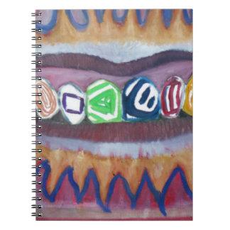 finare grillar anteckningsbok
