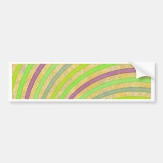 finare virvlar runt färgrik design för att ljusna bildekal