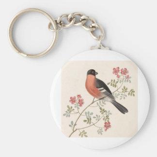 Finch från Junglewalk Rund Nyckelring