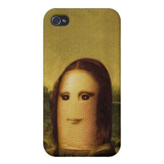 Finger Mona Lisa iPhone 4 Skal