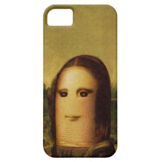 Finger Mona Lisa iPhone 5 Cover