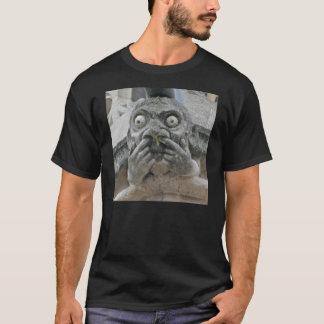 Finger-upp-näsa gargoyleskjorta tee shirt