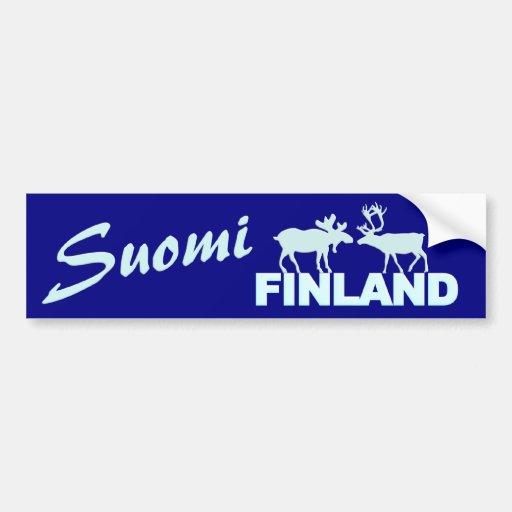 Finland älg- & renbildekal bildekaler