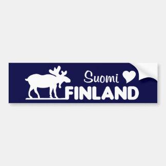 Finland älgbildekal bildekal