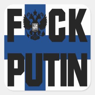 Finland Anti Putin klistermärke