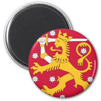 finland emblem magnet rund 5.7 cm