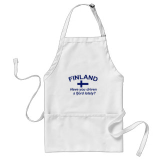 Finland Fjord Förkläde