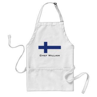 Finland flagga förkläde