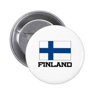 Finland flagga knappar