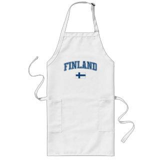 Finland + Flagga Långt Förkläde