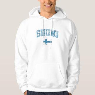 Finland + Flagga Sweatshirt