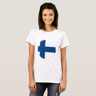 Finland flagga t-shirt