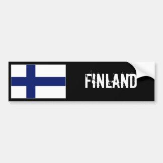 Finland flaggabildekal bildekal