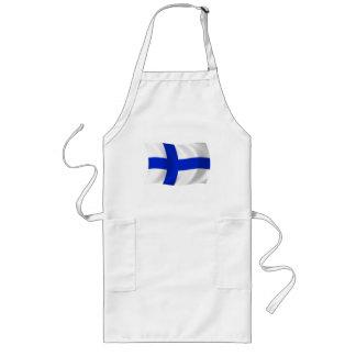 Finland flaggaförkläde långt förkläde