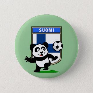 Finland fotbollPanda Standard Knapp Rund 5.7 Cm