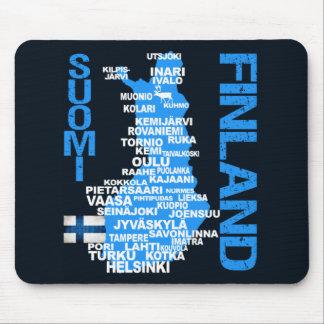 FINLAND KARTAmousepad Musmatta