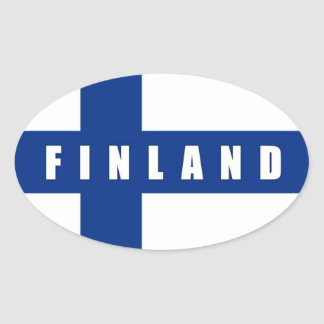 Finland klistermärke