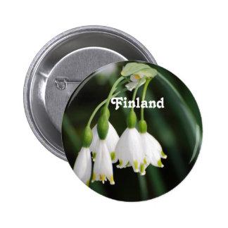 Finland liljekonvalj pins