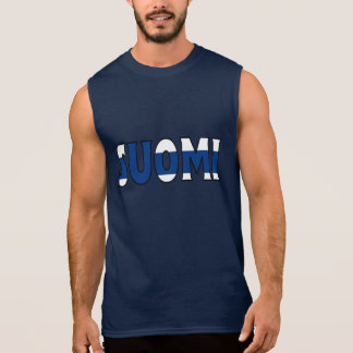 Finland skjorta sleeveless t-shirt