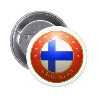 Finland skyddar standard knapp rund 5.7 cm