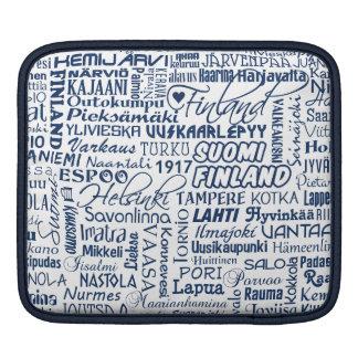Finland städeripad sleeve