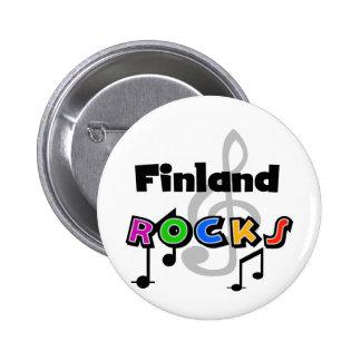 Finland stenar knapp med nål