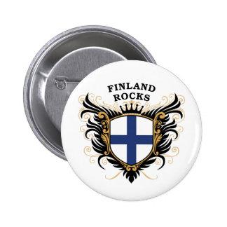 Finland stenar standard knapp rund 5.7 cm