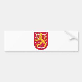 Finland vapensköld bildekal