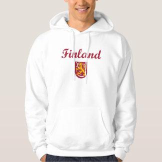 Finland + Vapensköld Hoodie