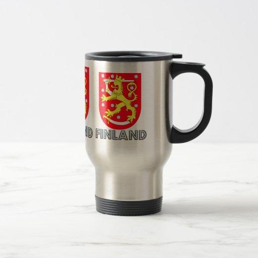 Finland vapensköld kaffe koppar