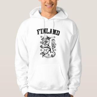 Finland vapensköld sweatshirt med luva