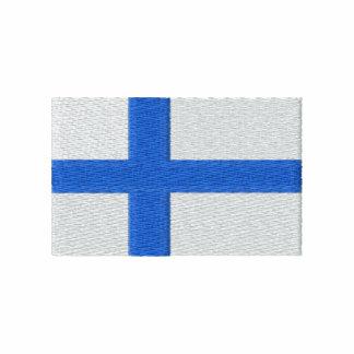 Finland vinandeHoodie Broderad Athletic Jacka I Fleece