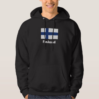 Finlandssvensk flagga hoodie