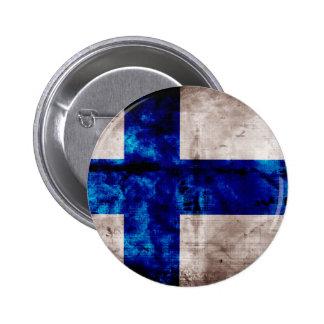 Finlandssvensk flagga knapp