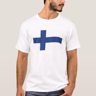 Finlandssvensk flagga t shirts