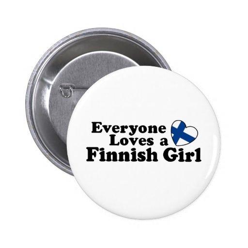 Finlandssvensk flicka nål