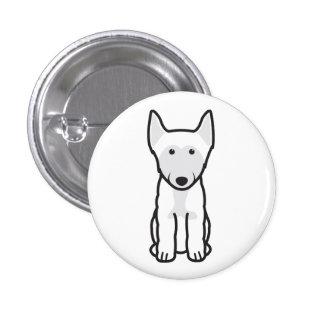 Finlandssvensk Lapphund hundtecknad Mini Knapp Rund 3.2 Cm