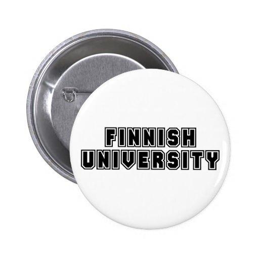 Finlandssvensk universiteten knappar med nål