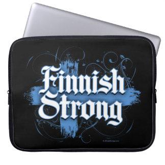 Finlandssvenskt starkt (Finland) Laptop Sleeve