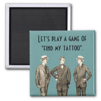 Finna min tatuering magnet