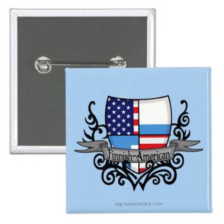 Finska-Amerikanen skyddar flagga Nål