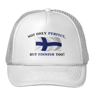 Finska och perfekt kepsar