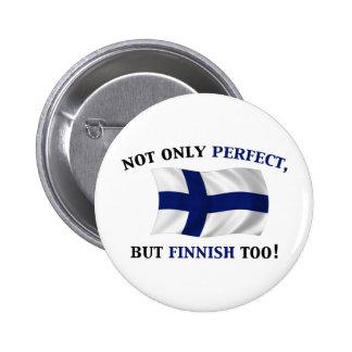 Finska och perfekt nål